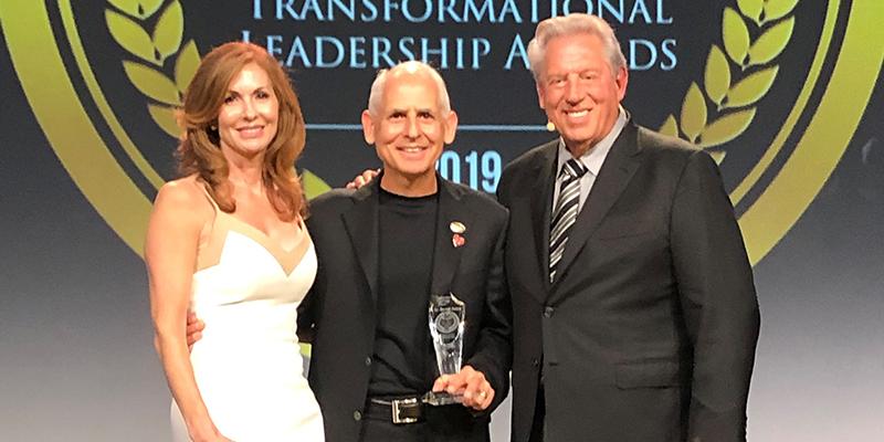 Dr. Amen Wins Transformational Leadership Award